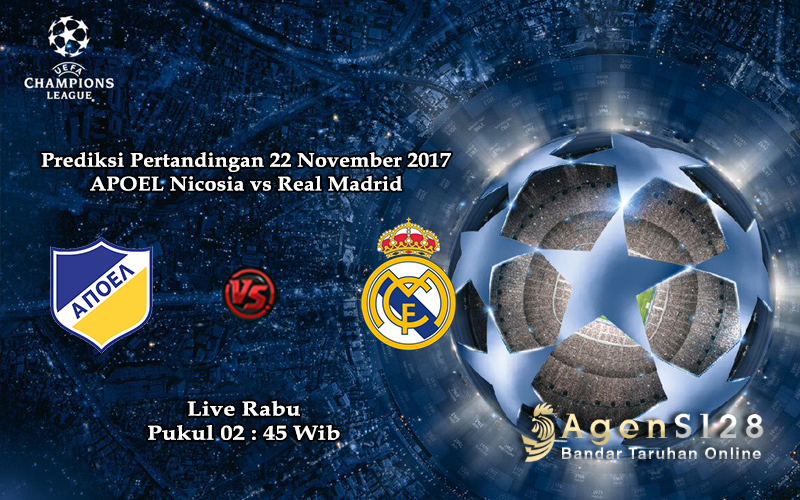 Jadwal Pertandingan Bola 6 November 2017