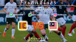 Prediksi Pertandingan Friendlies Sri Lanka vs Malaysia 12 Oktober 2018