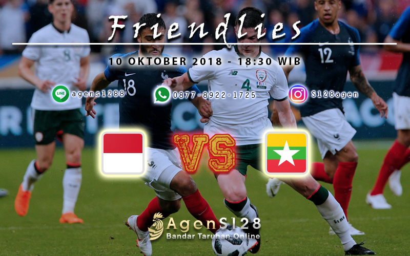 Prediksi Pertandingan Friendlies Indonesia vs Myanmar 10 Oktober 2018