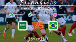 Prediksi Pertandingan Friendlies Saudi Arabia vs Brazil 12 Oktober 2018