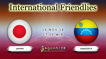Prediksi Pertandingan International Frendlies Japan vs Venezuela 16 November 2018