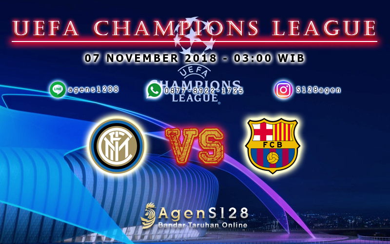 Prediksi Pertandingan UEFA Champions League Inter Milan vs Barcelona 06 November 2018