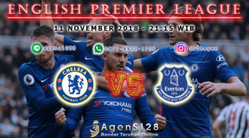 Prediksi Pertandingan English Premier League Chelsea vs Everton 11 November 2018