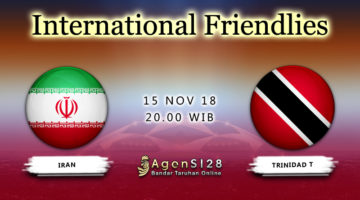 Prediksi Pertandingan International Frendlies Iran vs Trinidad Tobago 15 November 2018