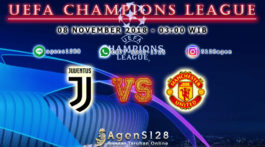 Prediksi Pertandingan UEFA Champions League Juventus vs Manchester United 07 November 2018