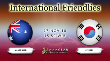 Prediksi Pertandingan International Frendlies Australia vs Korsel 17 November 2018