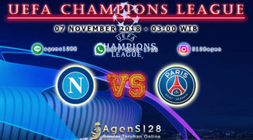 Prediksi Pertandingan UEFA Champions League Napoli vs Paris Saint Germain 06 November 2018