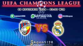 Prediksi Pertandingan UEFA Champions League Viktoria Plzen vs Real Madrid 07 November 2018