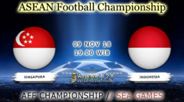 Prediksi Pertandingan AFF Championship Singapore vs Indonesia 09 November 2018