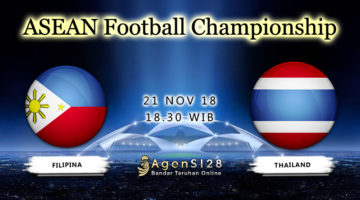 Prediksi Pertandingan AFF Championship Philippines vs Thailand 21 November 2018