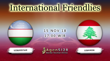 Prediksi Pertandingan International Frendlies Uzbekistan vs Lebanon 15 November 2018